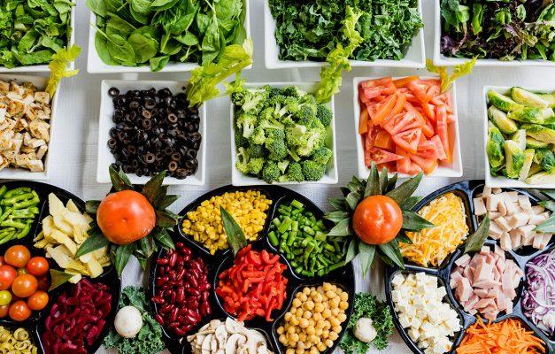alimentos buenos para la vista