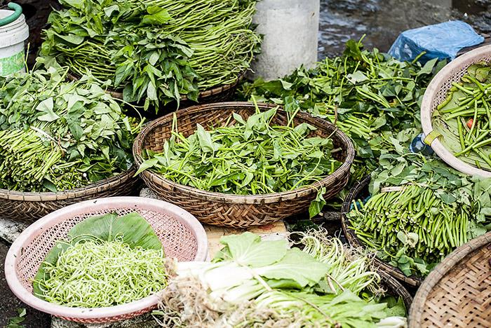 alimentos buenos para la vista - verduras hoja verde