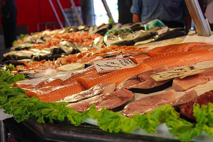 alimentos buenos para la vista - pescado