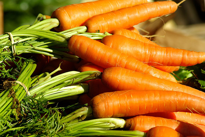 alimentos buenos para la vista - zanahorias